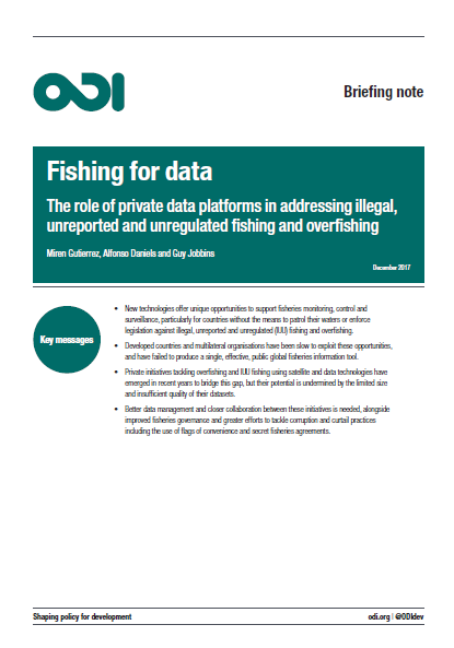 Cover Fishing for Data